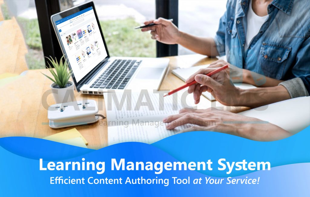 Calimatic LMS Content Authoring Tool