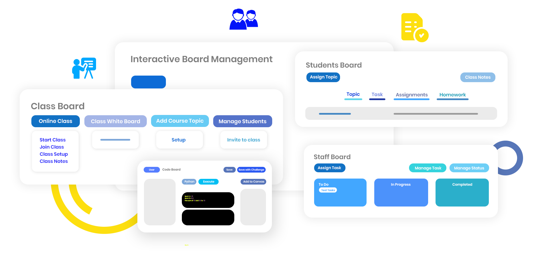 Student Enrichment with Student Boards and Class Boards