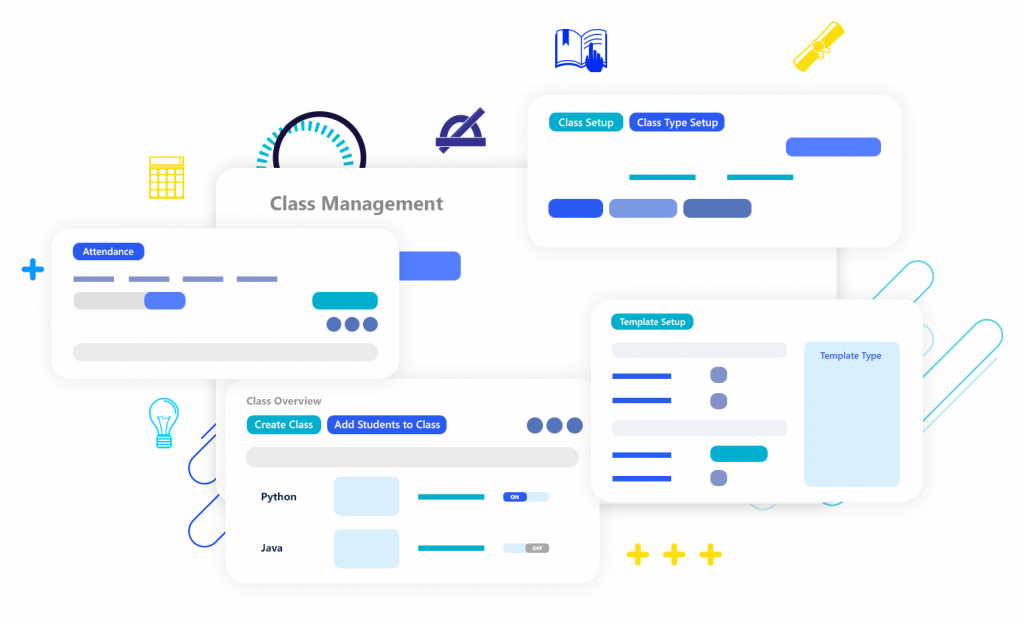 Calimatic LMS and EdTech - Manage Classes & Events management features