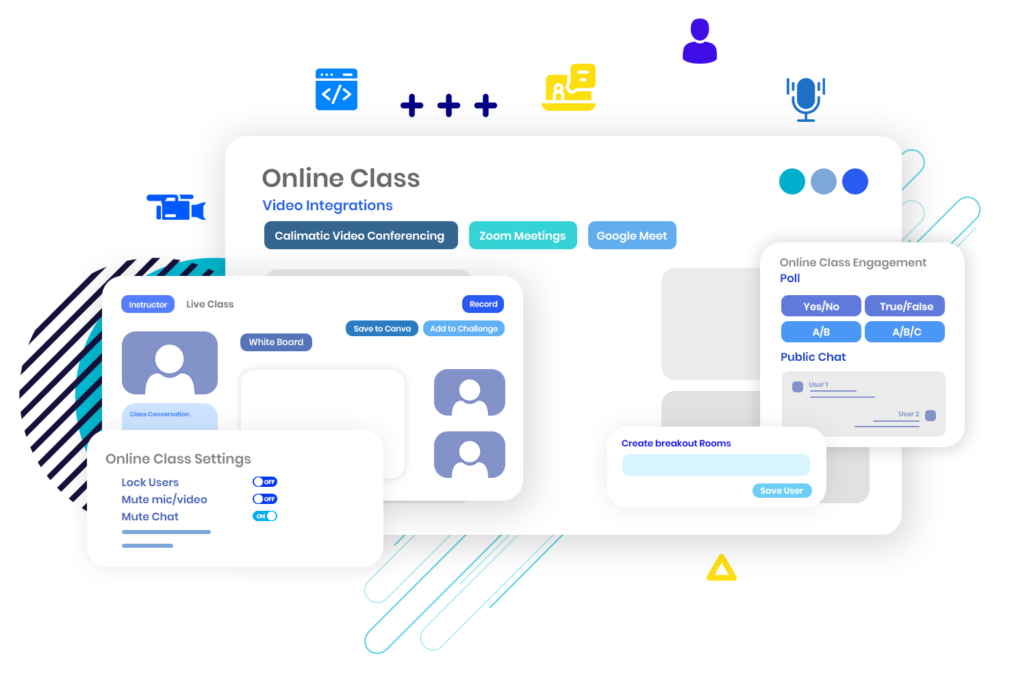 Online Video Conferencing solution to conduct Online Classes