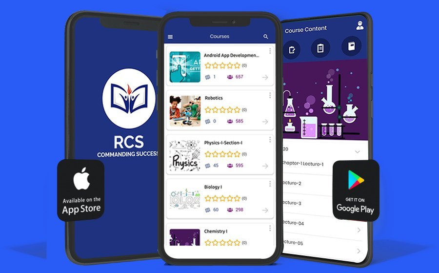 Calimatic EdTech's Branded LMS Mobile App